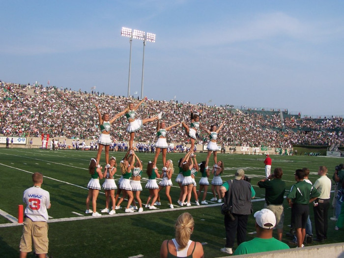 12) The Marshall University football program was rebuilt from the ground up in 1971.
