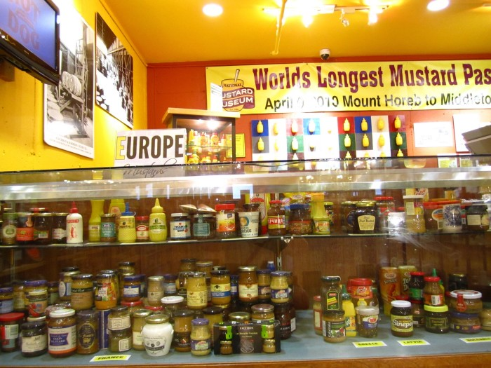 7. National Mustard Museum (Mt. Horeb). That's a lot of mustard!
