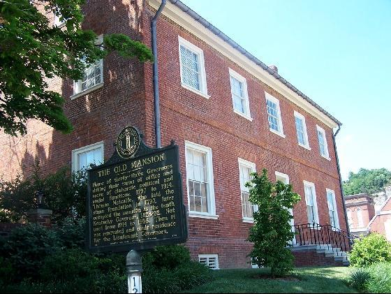 9. Old Governor's Mansion