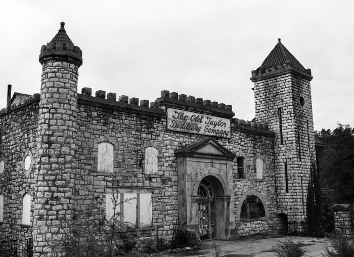 """4. Old Taylor Castle: this Old Taylor Distillery sits on 82 acres on the banks of Glenn's Creek in northern Kentucky. Colonel E. H. Taylor Jr. established the place and was known as the """"father of the modern bourbon history."""""""