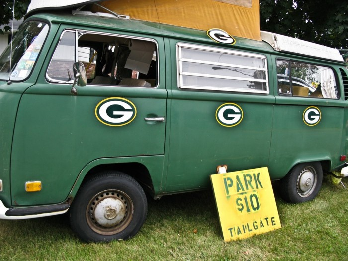 4. The Green Bay Packers. Everyone gets behind them on Sunday.