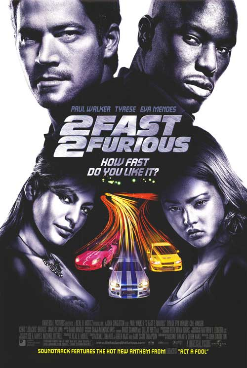 4. 2 Fast 2 Furious