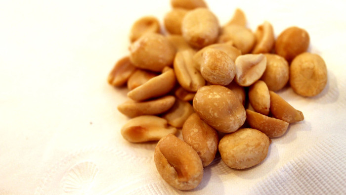 2. Peanuts. A long and hallowed tradition.