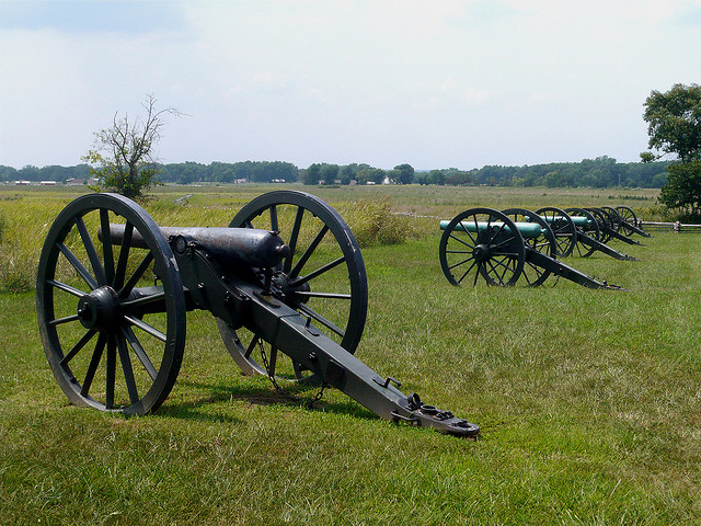 6. Pea Ridge National Military Park: Some guests to the site have reported a feeling of being followed by something unseen.