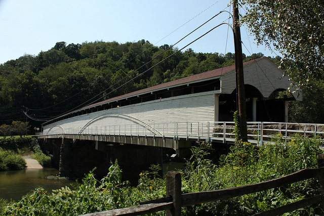 1. The Philippi Covered Bridge was near the sight of the first land battle of the Civil War.