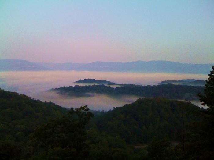 3. Pinnacle Overlook At Cumberland Gap National Historic Park