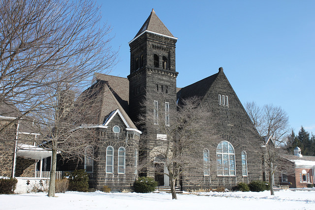 8) The First Presbyterian Church of New Cumberland, WV, is absolutely stunning!