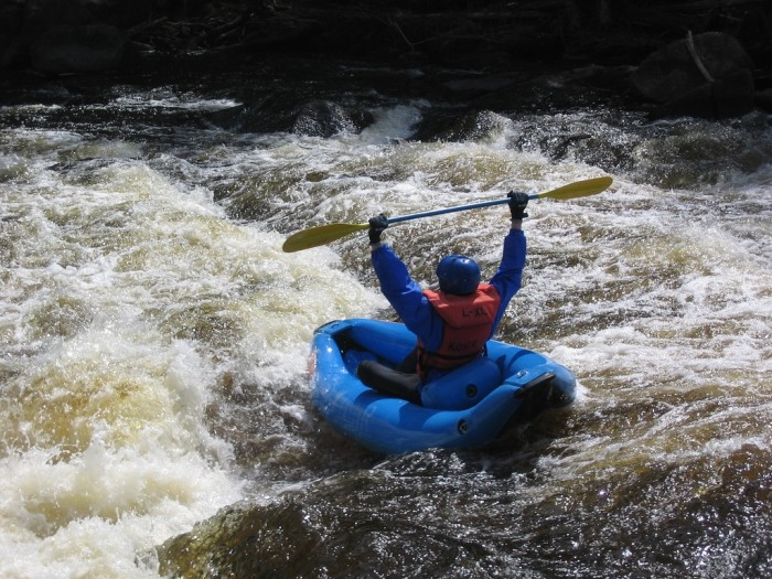4. White water rafting is great