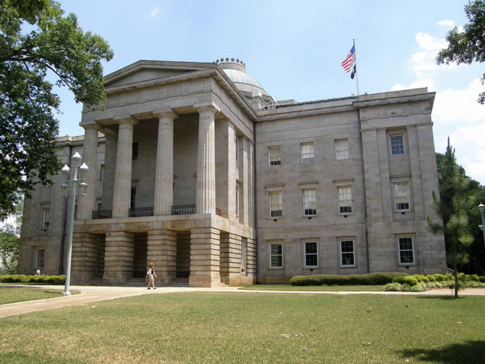 1.Raleigh's Haunting Capitol Building History