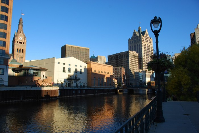 15. Riverwalk (Milwaukee). From here, you can see some of the best views of the city. It's particularly nice during a summer evening, where you might stumble upon some musicians.