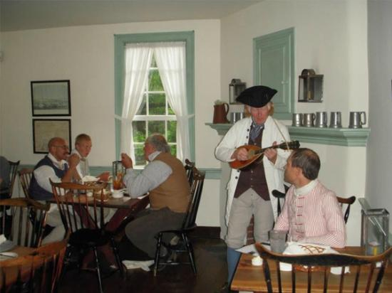 8. Speaking of back in time, there's also Old Salem Tavern in Winston-Salem.