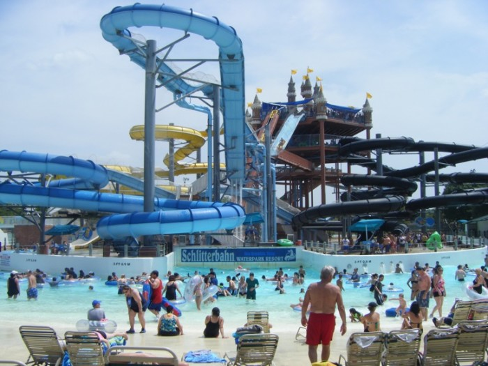 7) The #1 water ride in the country, the Master Blaster.