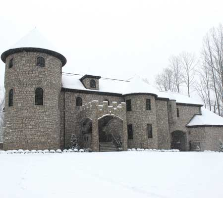 3. Clark Scott Castle: in Louisville, Kentucky the front of this castle is replicated similar to the St. Brivels castle near the England and Wales border.