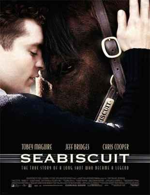 5. Seabiscuit: a film inspired by a true story of a racehorse shot at the infamous Keeneland racetrack in Lexington.