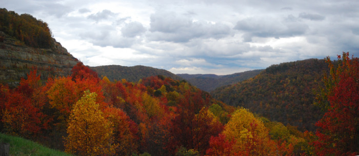 11) Here in West Virginia, we get to see all four seasons in full swing!