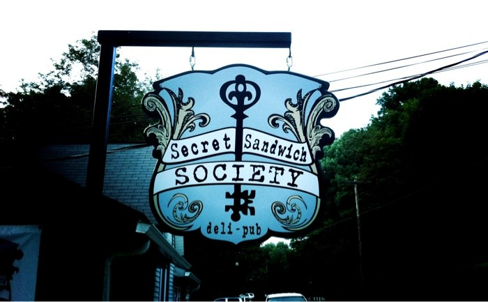 12) The Secret Sandwich Society is located in Fayetteville, WV.