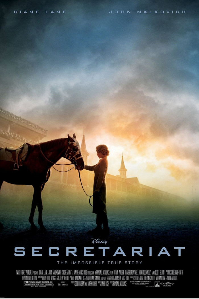 2. Secretariat: the film chronicling the life of the thoroughbred race horse took place on location in Louisville and Lexington, Kentucky.