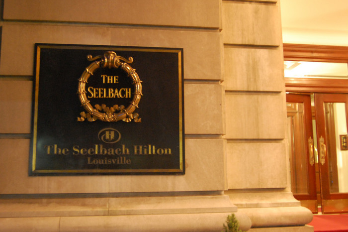 6. The Seelbach Hilton: This elegant Louisville hotel is famous for multiple early hotel patron suicides that just keep making reappearances.
