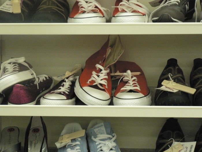 10) We actually wear shoes!