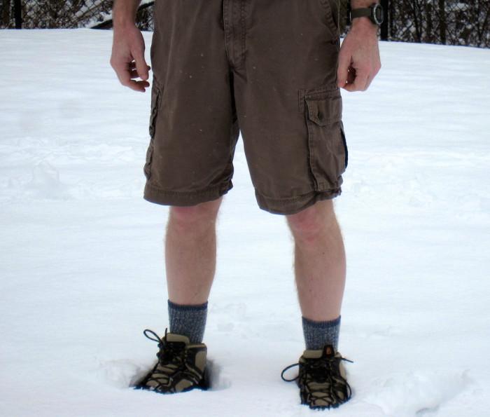 shorts snow