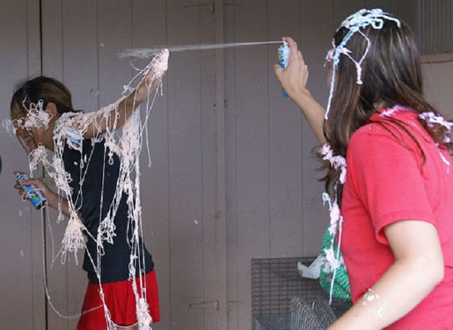 7.) In Mobile, it's illegal to spray silly string.