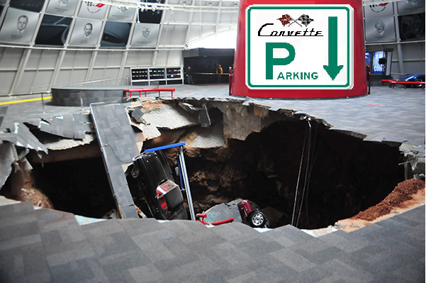 4. National Corvette Museum Sinkhole