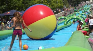 This 1,000 Foot Traveling Slip N' Slide Is Coming To Texas… And It's Awesome