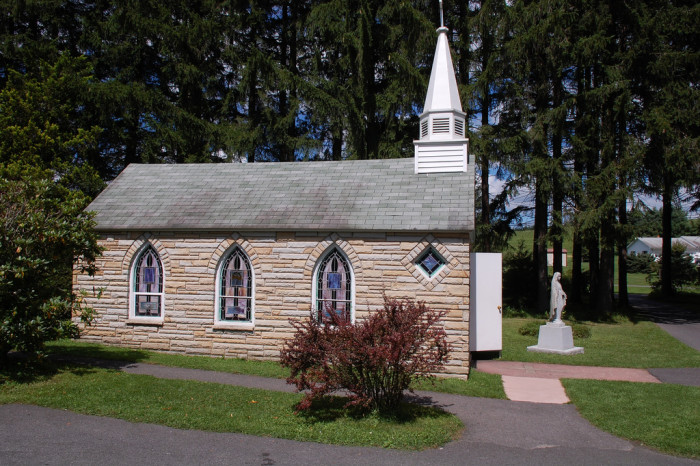"""11) We have the """"Smallest Church in 48 States."""""""