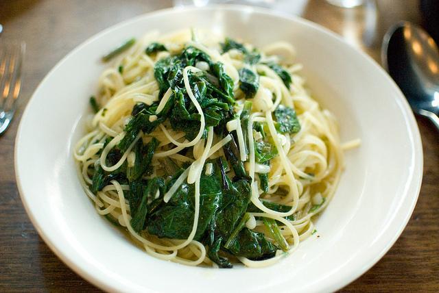 7) Spaghetti with Ramps