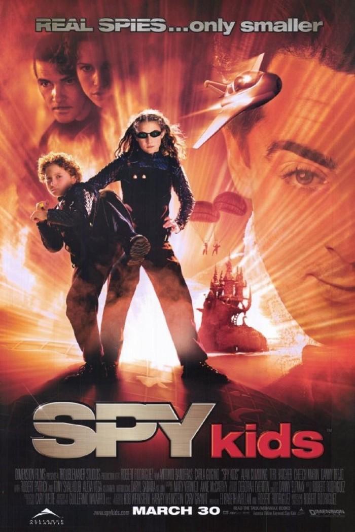 6) Spy Kids (2001)