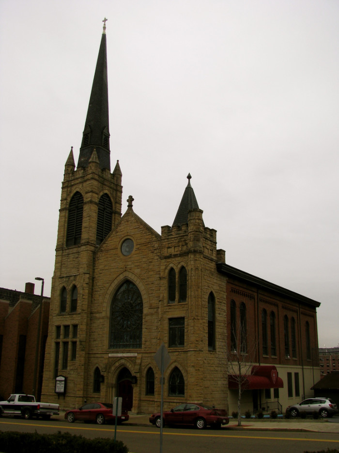 11) St. James Lutheran Church is located in the heart of downtown Wheeling, WV.