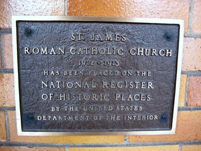 3. St. James Catholic Church