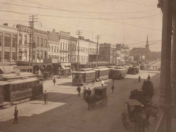 12.) The first electric streetcar in the world ran down Dexter Avenue in Montgomery.