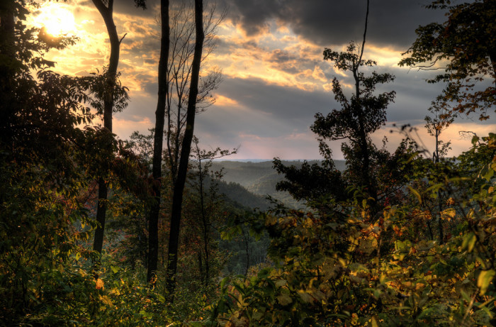 10) The sunset in West Virginia is simply stunning!