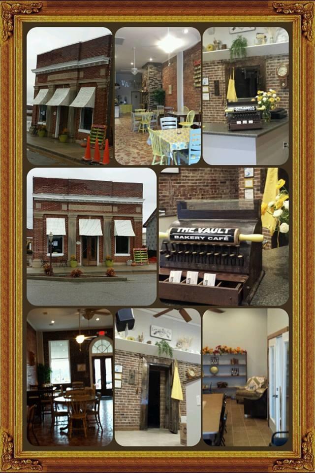 7.) The Vault Bakery Café - Hackleburg
