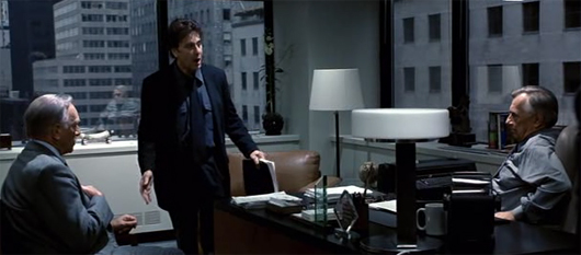 9. The Insider: Russell Crow and Al Pacino star in this thriller set and filmed in Louisville. Look closely you can spot the Seelbach Hotel.