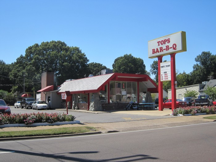 2) Top's Bar-B-Q