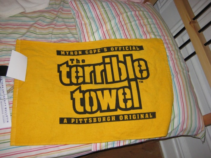 4. Those actually terrible towels--they're made in Wisconsin.
