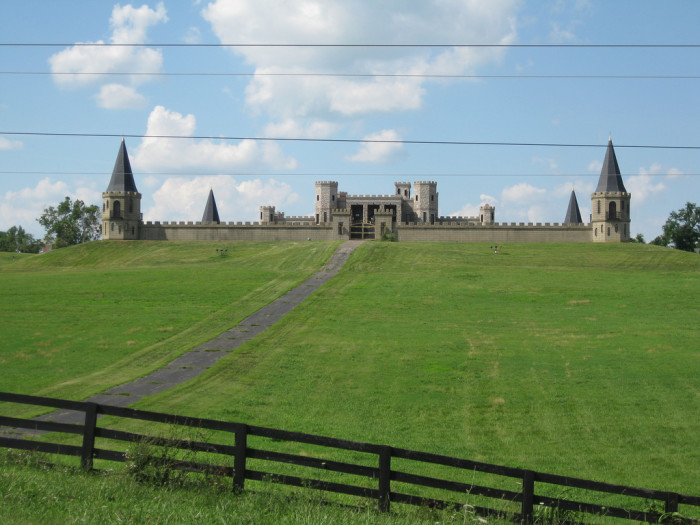 """1. Martin Castle (Castle Post or Versailles Castle): located in Versailles, Kentucky near Lexington is a beautiful picturesque piece situated right in the heart of horse country on a 50 acre estate. Known as """"The Kentucky Castle."""" It's now a famous hotel and you can even stay there!"""