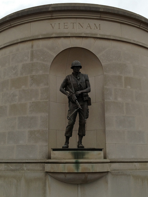 17) Go see the Veteran memorial at the Capitol complex grounds.