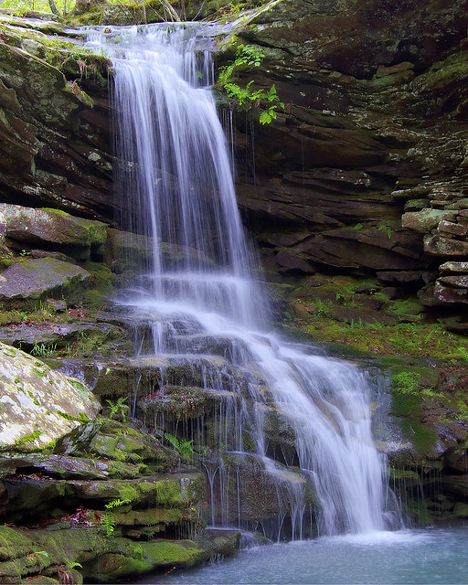 12. The Waterfalls - Visitors to Arkansas's state parks can find some of the prettiest waterfalls ever.