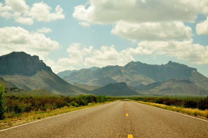 6. The soaring mountain ranges of West Texas make those 12 hour drives on road trips totally worth it.