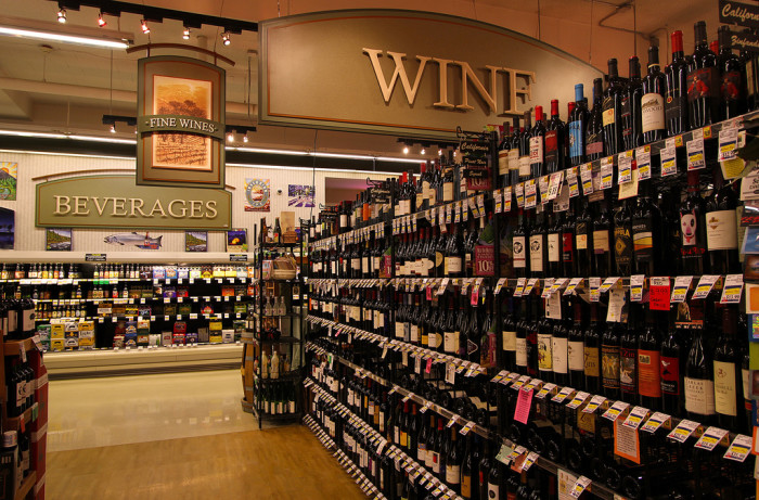 25) Wine in a grocery store? Not a thing.