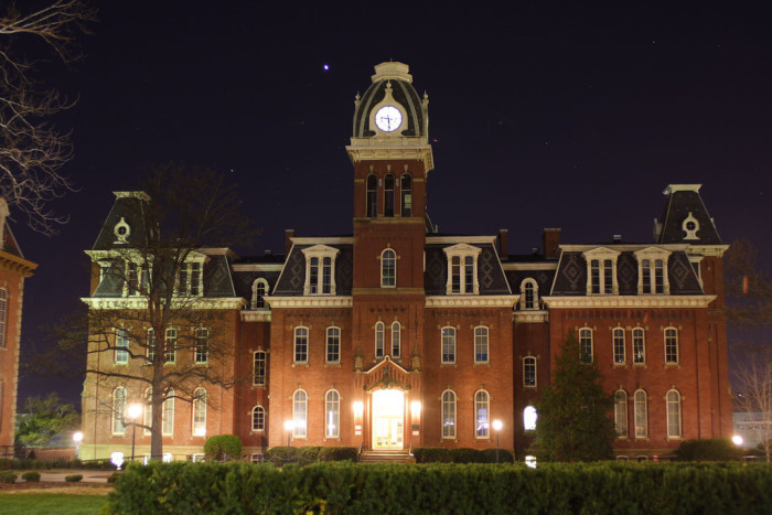 3) Woodburn Hall was finished in 1976 and is the centerpiece of Woodburn Circle.