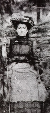 Pictured here is Mary Jane Heaster, Zona Shue's mother. Heaster was certain that Edward Shue had killed her daughter.