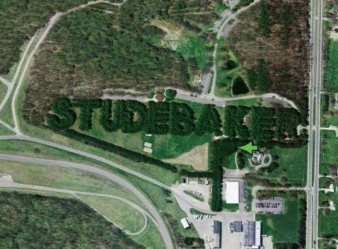 """10.) Trees Spell """"Studebaker"""""""