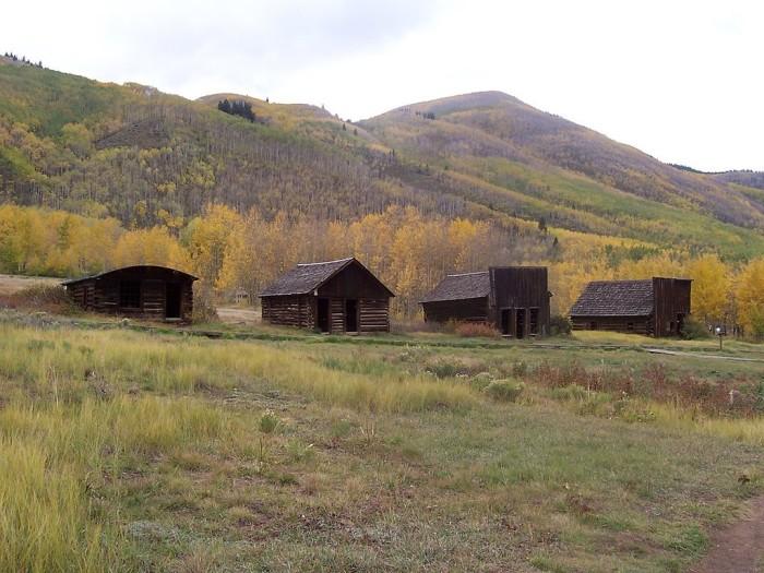 1.) Houses in Ashcroft, Colorado