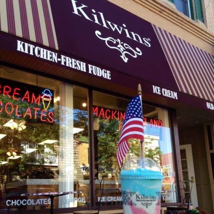 18) Kilwin's Chocolate-Fudge Ice Cream Shoppe,St. Joseph