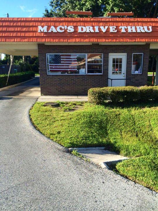 6. Mac's Drive Thru in Gainesville, FL