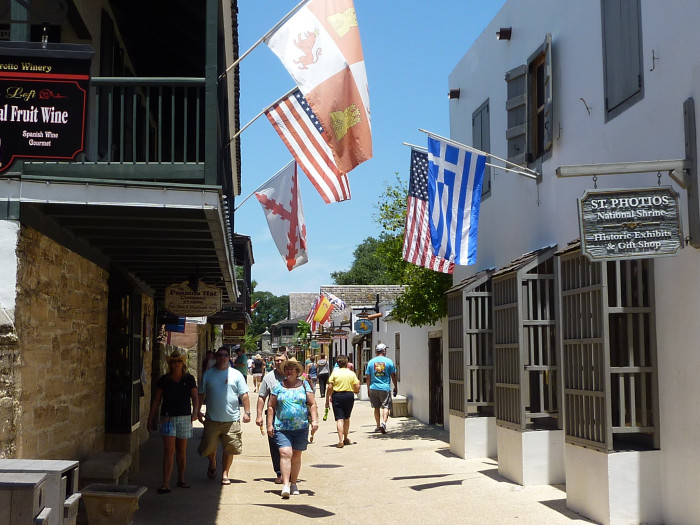 3. Visit America's Oldest City, St. Augustine.